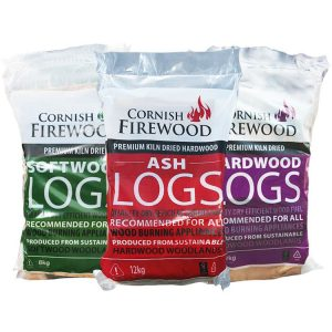 Mixed Logs – (50% Softwood, 50% Hardwood)