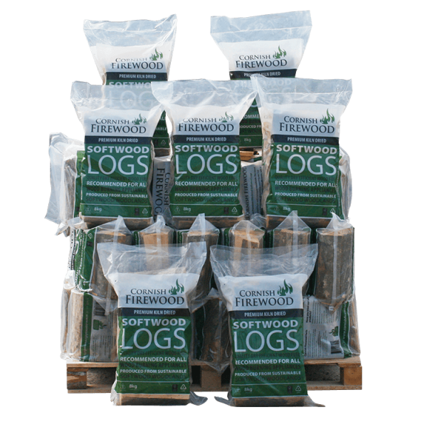 Softwood Poly Bags Stack