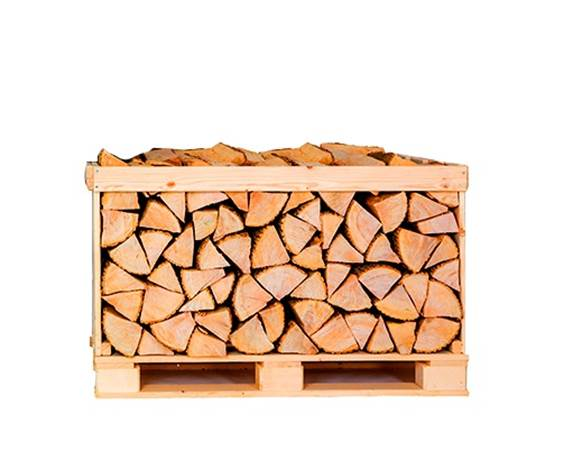 Half Crate Kiln Dried Birch Logs