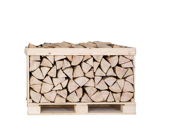 Half Crate Kiln Dried Ash Logs