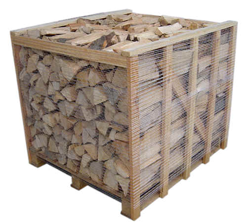 Ash and Birch Half Crate Wrapped