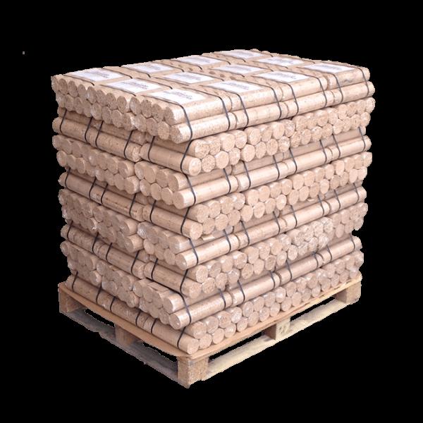 Hardwood Briquette Logs - Full Pallet