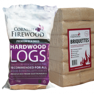 Birch & RUF Briquettes Bundle