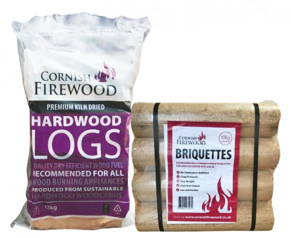 Birch & Hardwood Briquettes Bundle