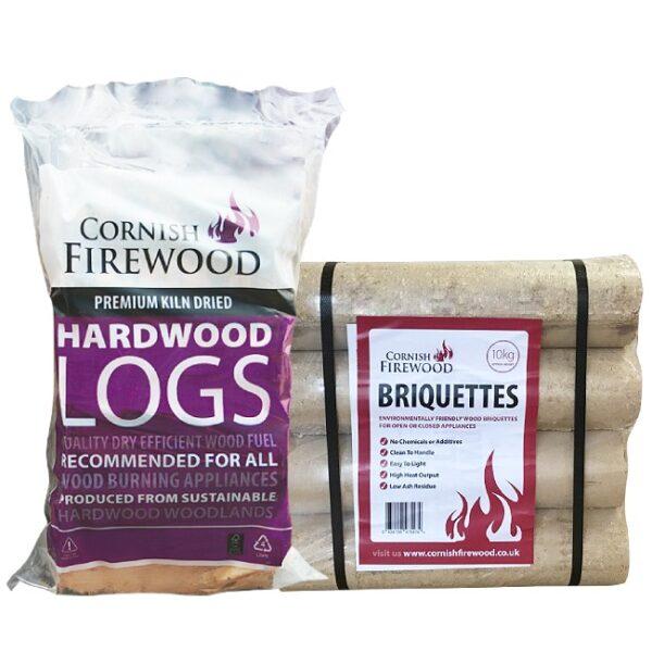 Birch & Hardwood Briquette Bundle