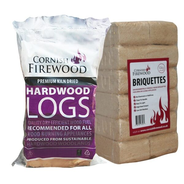 Birch & RUF Briquettes Bundle